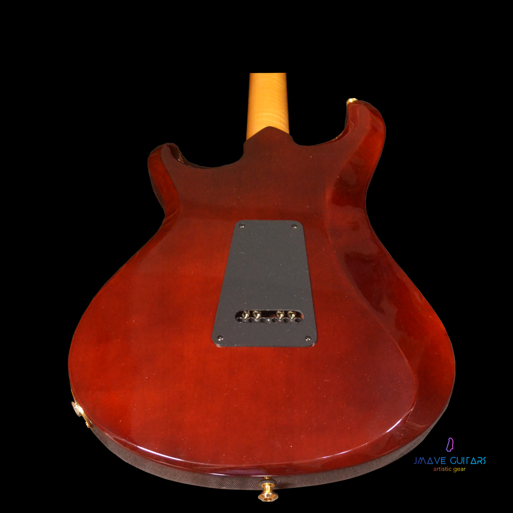 Knaggs Severn T2 Burgundy Copper with Koa Pickguard