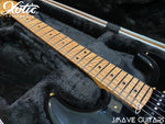 Xotic Guitars XSC-2 Black 5A Roasted Flame Maple Neck5A Roasted Flame Maple Neck