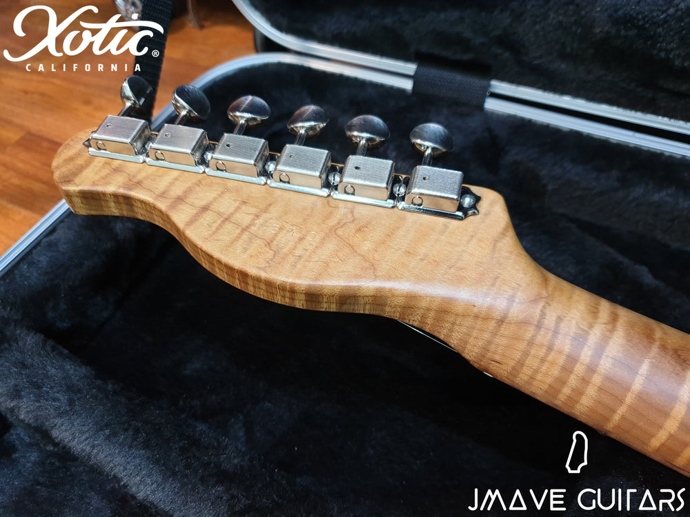 Xotic Guitars XTC-1 Blonde 5A Roasted Flame Maple Neck