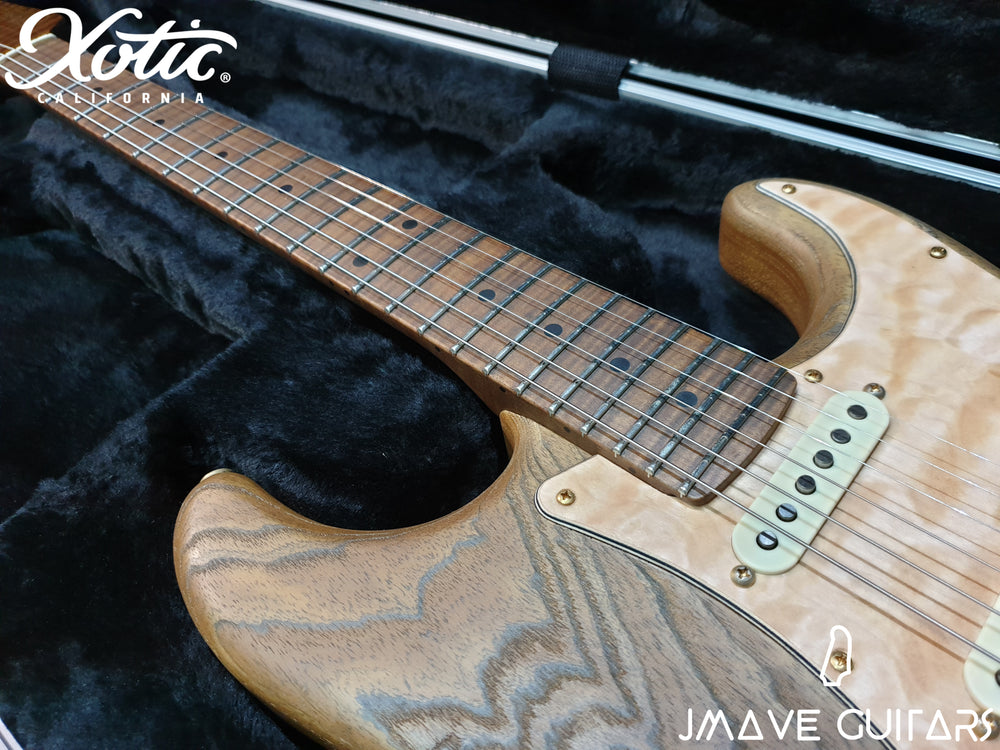 Xotic Guitars XSC-1 NAMM 2019 Piece Master Grade Flame Maple Neck