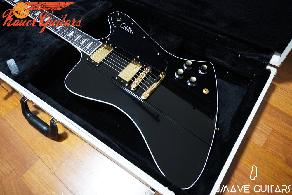 Kauer Guitars Banshee Deluxe in Black and Gold