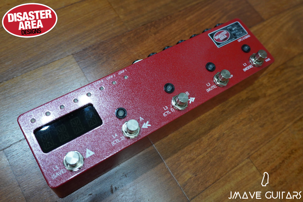 Disaster Area Designs DPC5 Gen 3 Controller in Red