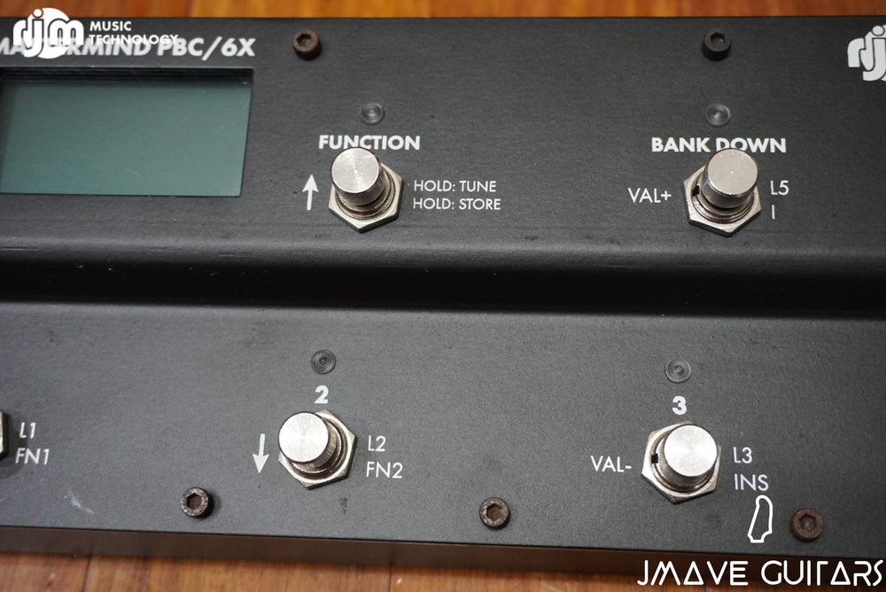 *USED* RJM Music Technology PBC/6X Black
