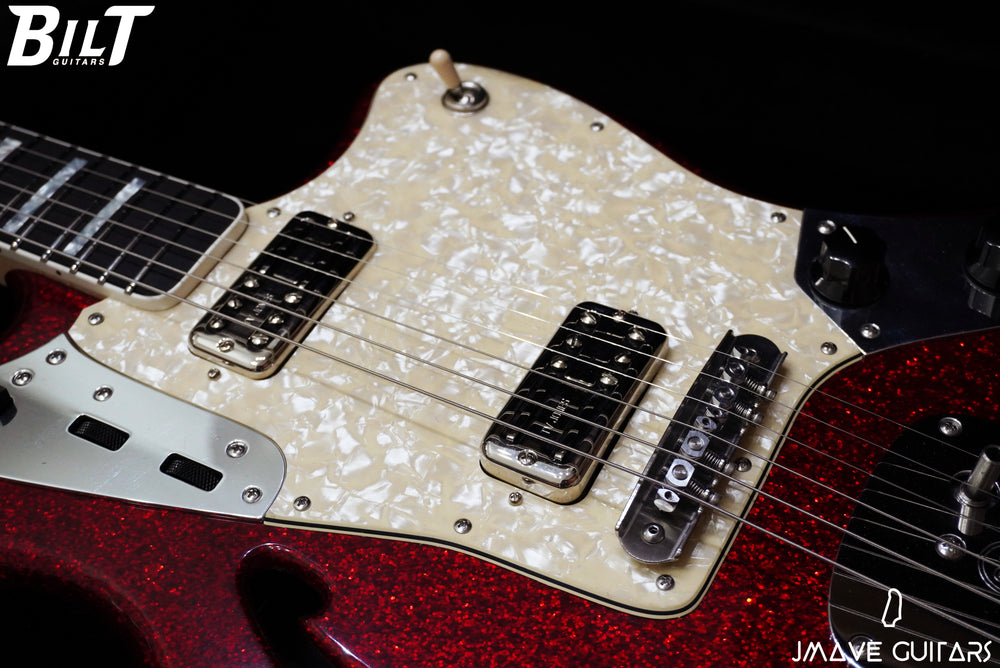 BilT Guitars S.S. Zaftig Red Sparkle