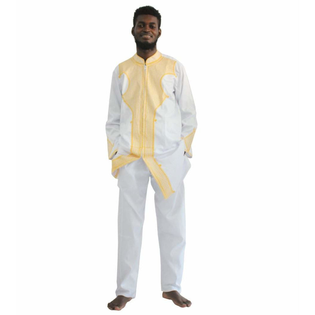 Ensemble Traditionel Bazin White / M