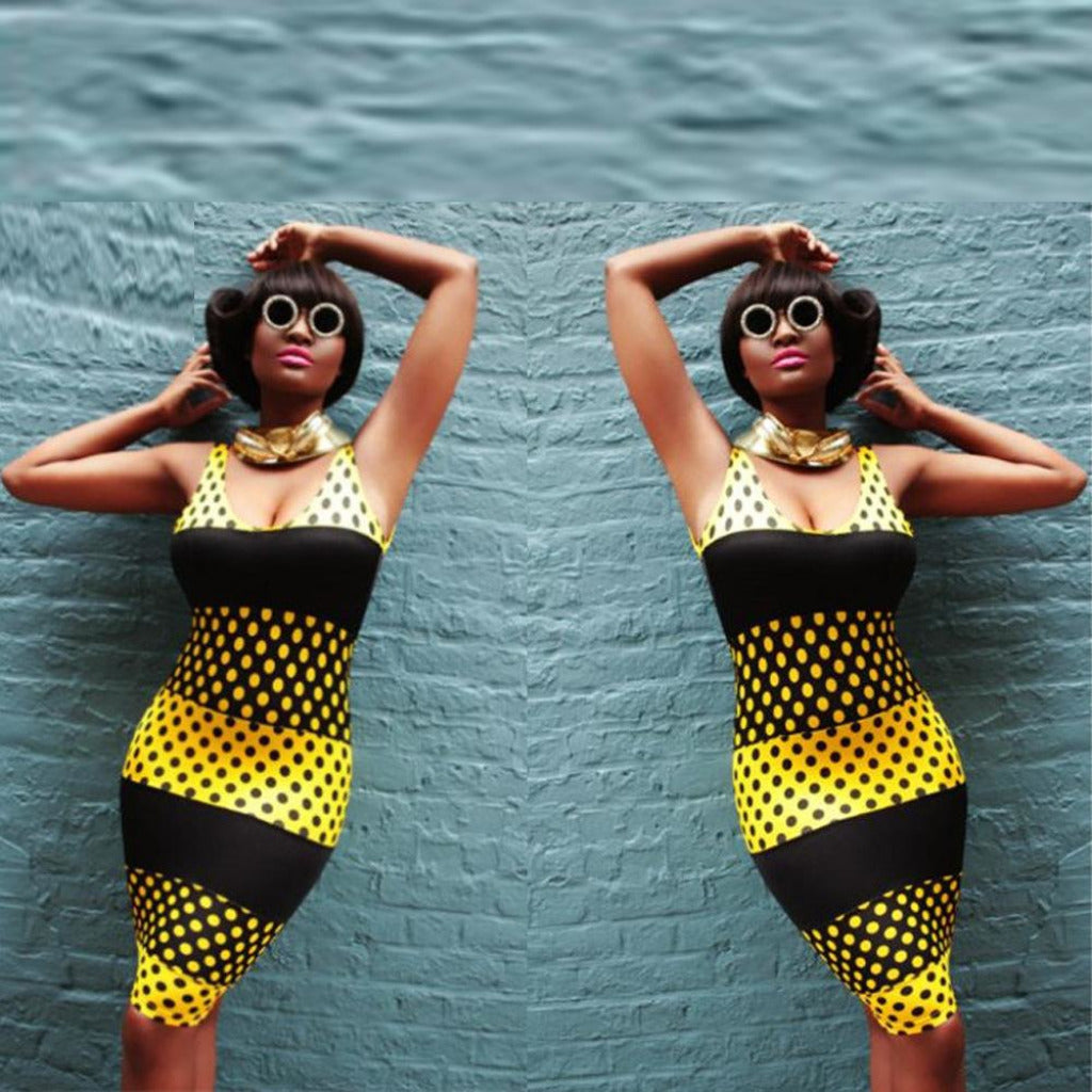 robe miel afro african style sexy belloandfam.com