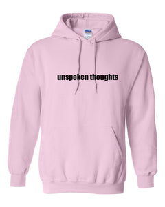 ;ak Unspoken Thoughts Hoodie