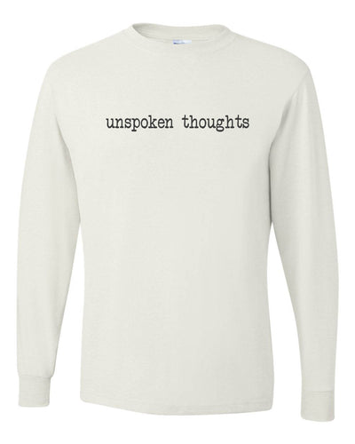 ;ak unspoken thoughts long sleeve t