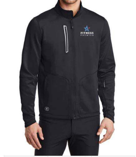 Men's Stacked Logo Full Zip