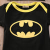 Superhero Baby Bodysuit Outfit with Matching Hat and Shoes - 3pc Set