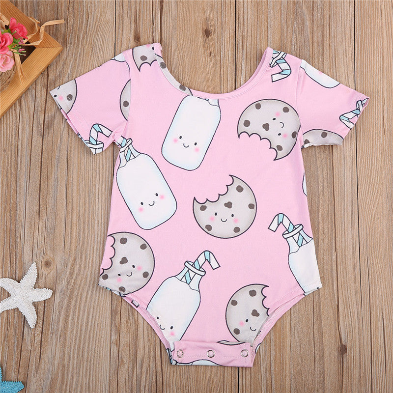 Milk and Biscuit Print Bodysuit