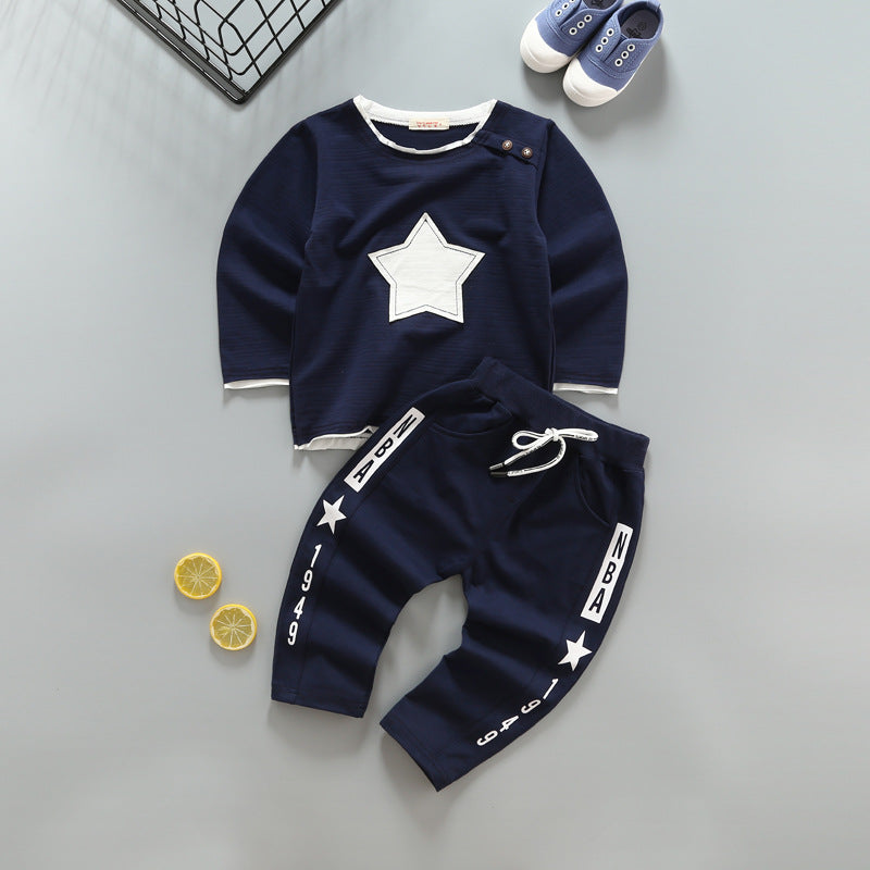Long Sleeve T-Shirt and Trackpants - 2pc Set