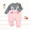 Wool Knitted Rabbit Romper