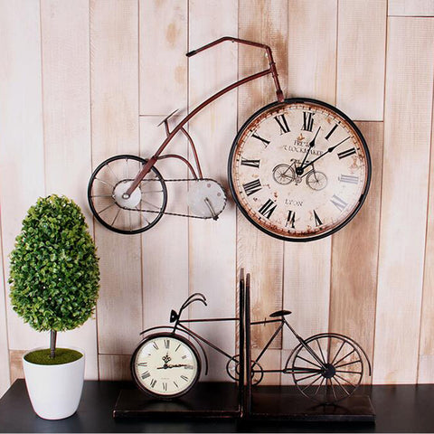 farmhouse wall decor clock vintage