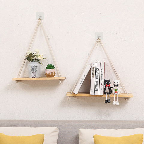 Lola farmhouse wooden shelves
