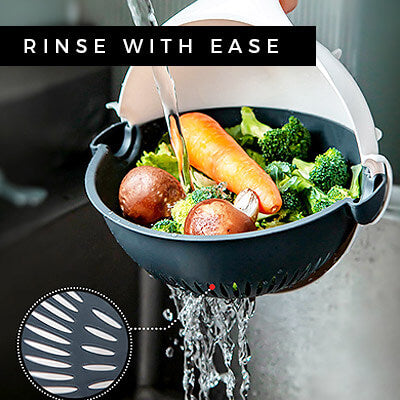 chef master 9 in 1 easy rinse