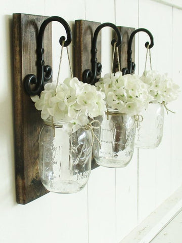 mason jars farmhouse decor