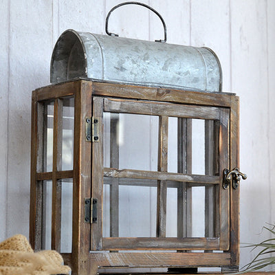 Adelaide Vintage Farmhouse Lantern | Farmhouse Decor