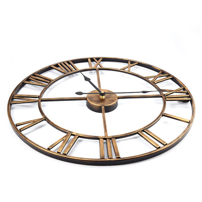 Alessio Farmhouse Iron Wall Clock | Farmhouse Decor