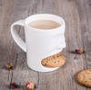 Coffee & Biscuits Porcelain Mug | Farmhouse Decor