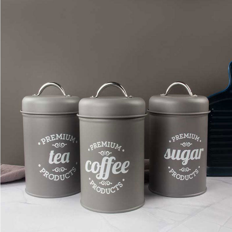 Farmhouse Coffee Bar Container Set | Farmhouse Decor