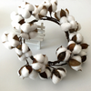 Farmhouse Natural Cotton Wreath | Farmhouse Decor
