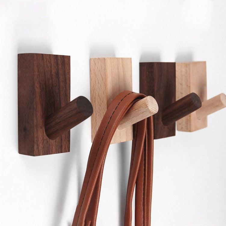 Farmhouse Solid Wood Coat Hooks | Farmhouse Decor