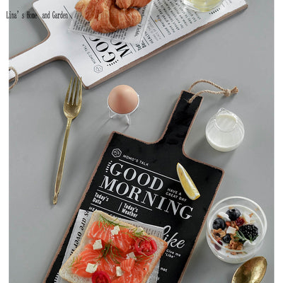 Good Morning Double-Sided Farmhouse Board | Farmhouse Decor