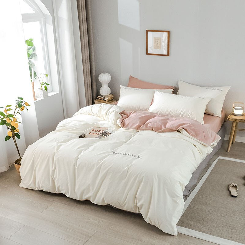 Eloise Double Sided Modern Bedding Set