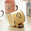 Happy Camper Enamel Retro Mug | Farmhouse Decor