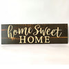 Home Sweet Home Farmhouse Wooden Sign | Farmhouse Decor