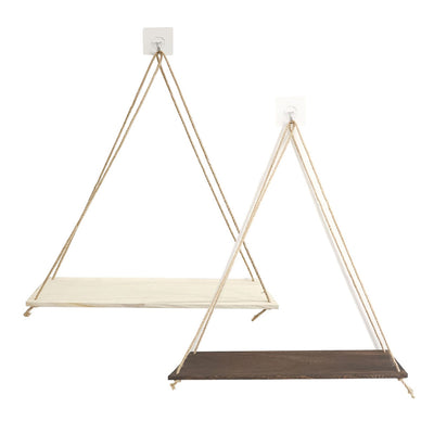 Lola Swing Wooden Shelf | Farmhouse Decor