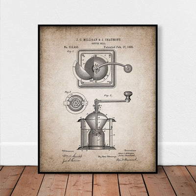Retro Coffee Posters | Farmhouse Decor