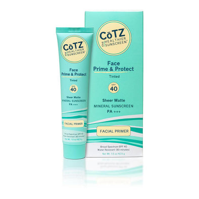 Cotz Face Natural Tint SPF 40 Mineral Sunscreen