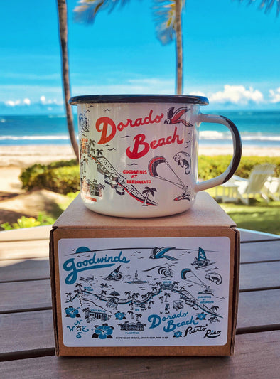 Goodwinds Enamel Mug