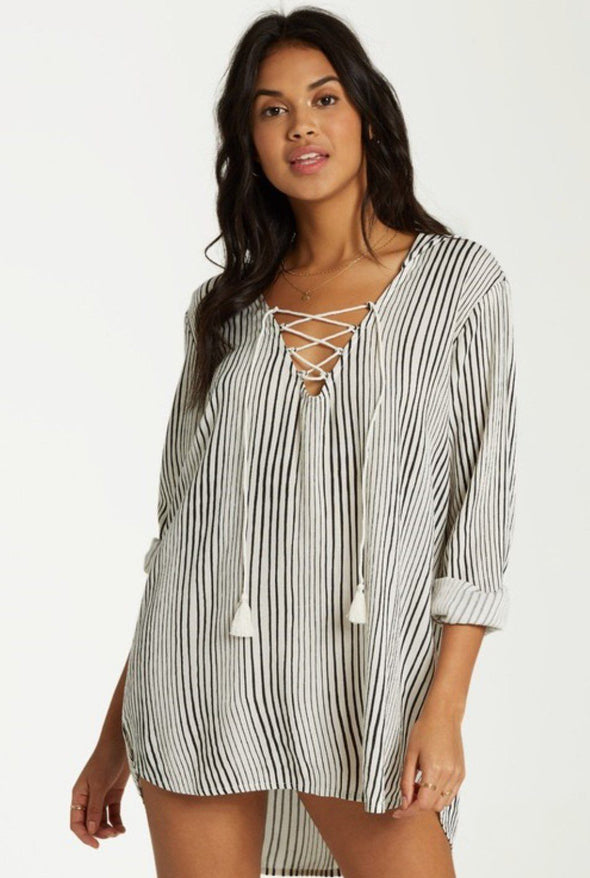 Billabong Same Story Hooded Cover Up