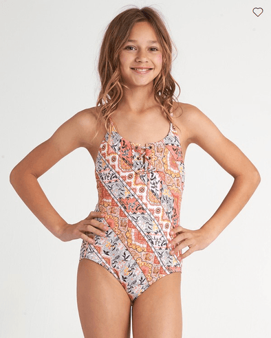 Billabong Girls Boho Babe One Piece