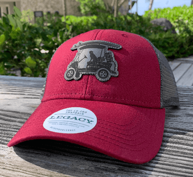 Chili Leather Patch Trucker Hat