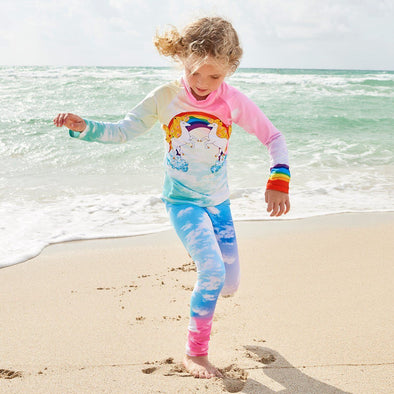 Sun Pop Lucky Unicorns Rashguard Set