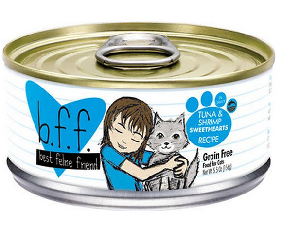 Weruva BFF Tuna and Shrimp Sweethearts Canned Cat Food