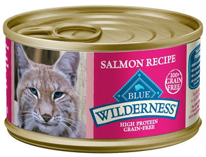 Blue Buffalo Wilderness Salmon Recipe Canned Cat Food