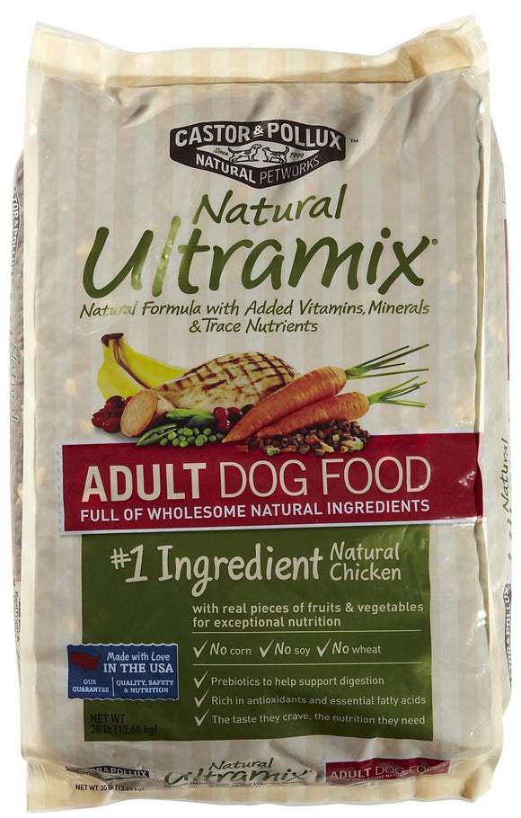 Castor and Pollux Natural Ultramix Adult Dry Dog Food