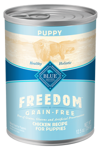 Blue Buffalo Freedom Grain Free Chicken Recipe Puppy Canned Dog Food