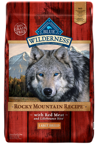 Blue Buffalo Wilderness Rocky Mountain with Red Meat Large Breed Adult Dry Dog Food