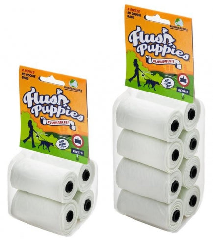 Flush Puppies Refill Pack Waste Bags