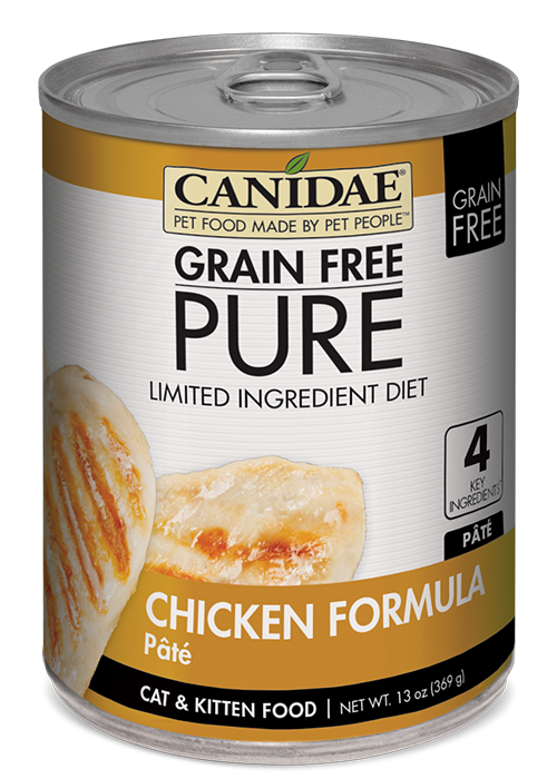Canidae Grain Free PURE Limited Ingredient Diet Chicken Recipe Canned Cat Food