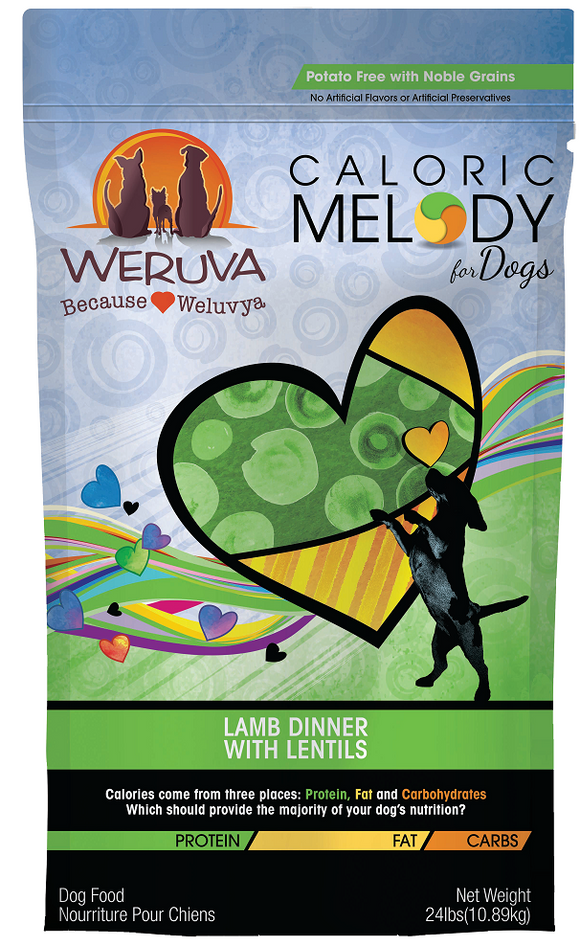 Weruva Caloric Melody Lamb Dinner with Lentils Dry Dog Food