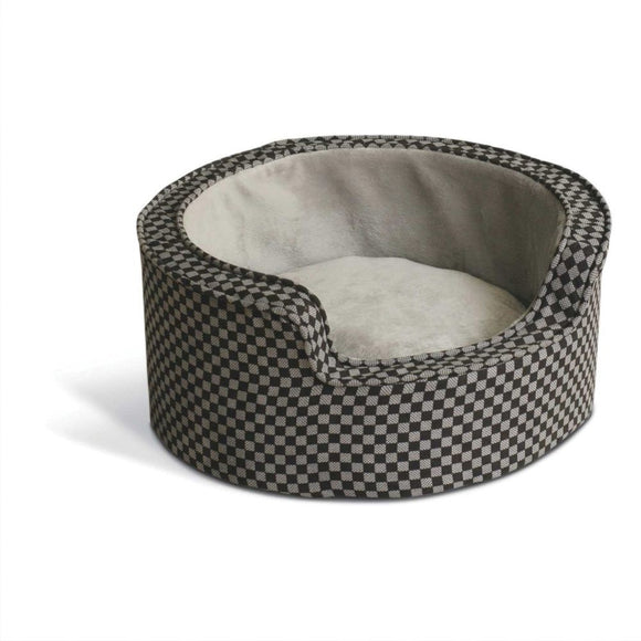 K&H Pet Products Round Comfy Sleeper Self-Warming Pet Bed