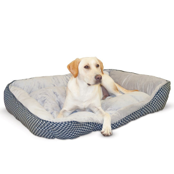 K&H Pet Products Self Warming Lounge Sleeper Square Pet Bed