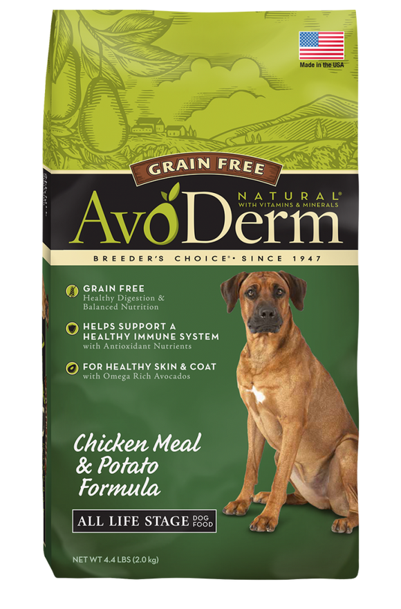 Avoderm Grain Free Chicken Meal and Potato Formula Dry Dog Food